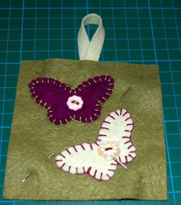Owl and Butterfly lavender sachet pattern & tutorial