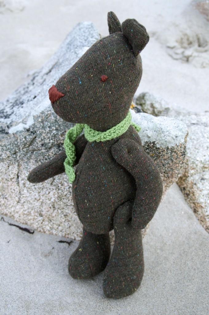 arthur-bear - made with the Arthur Bear Pattern from Miss Daisy Dolls