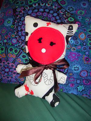 Button - Kandisky Kitty by Marina