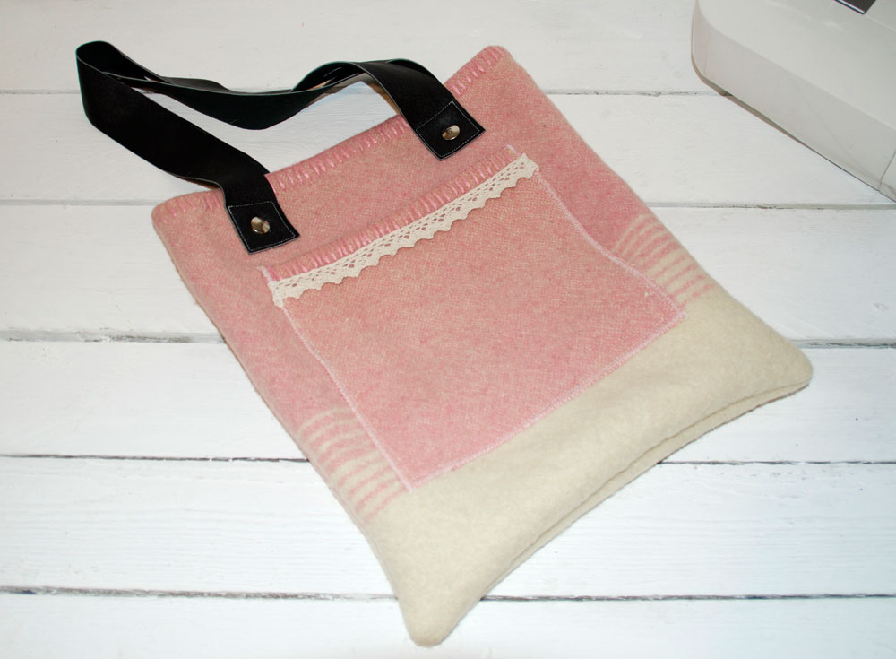 Make your own Blanket Tote Bag Tutorial
