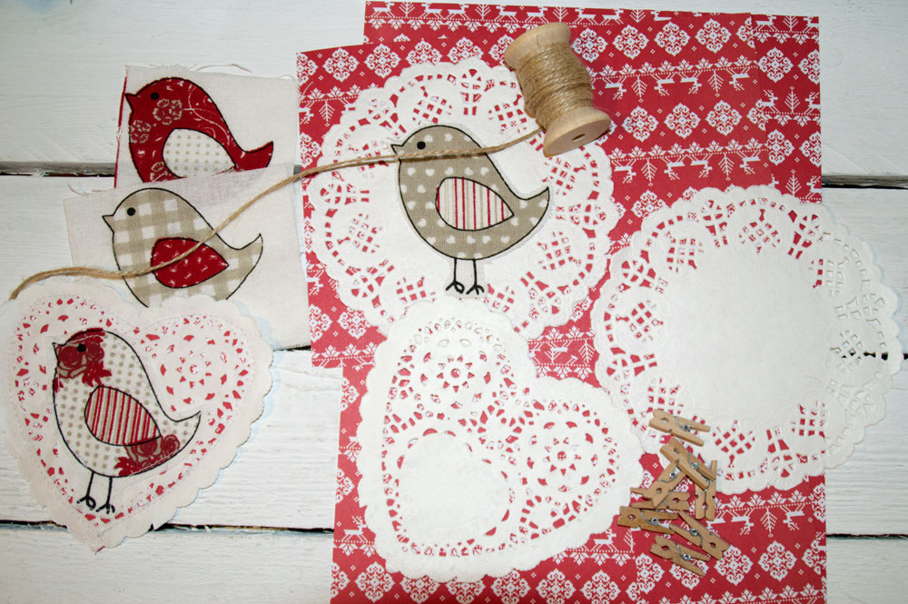 Cute Birdy Bunting - How to Make