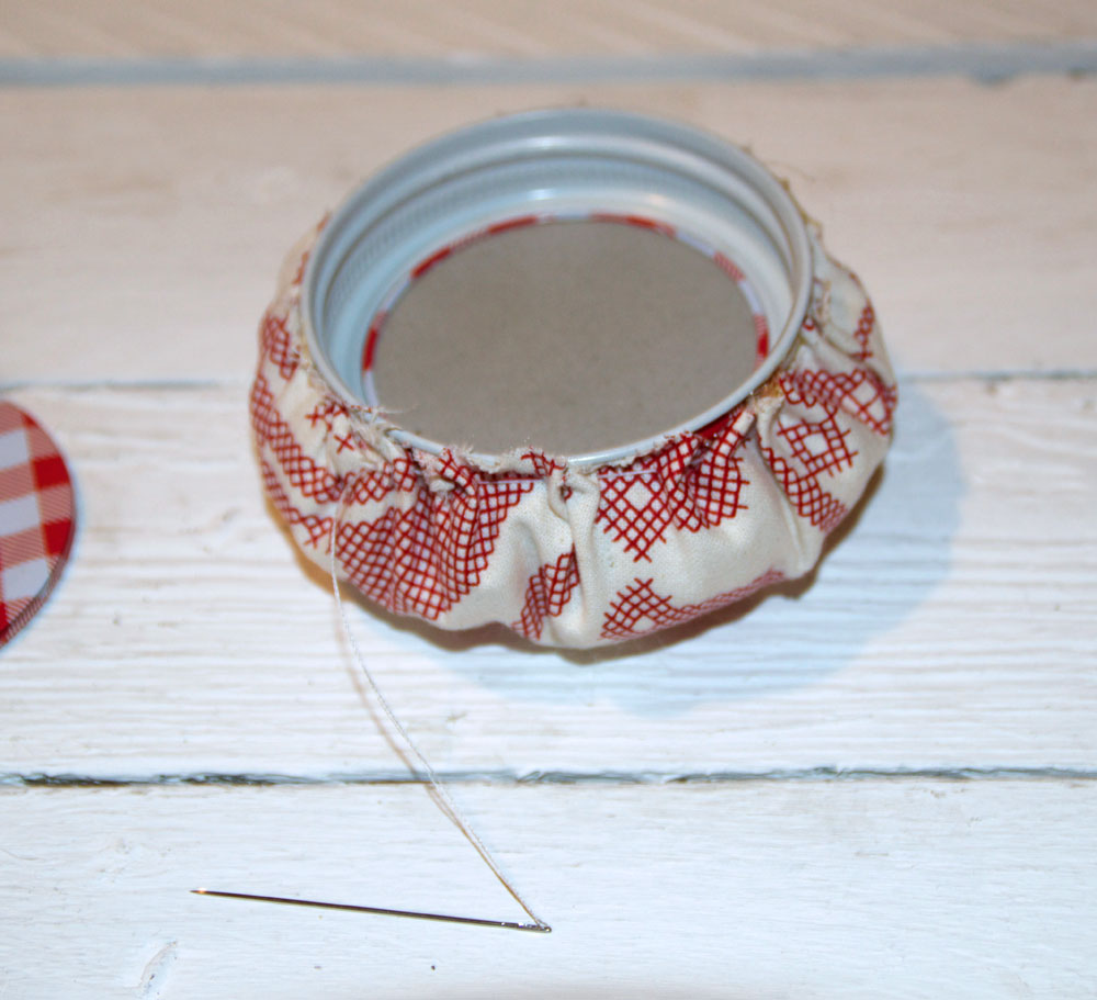 Sewing Jar with Pin Cushion – How to Make