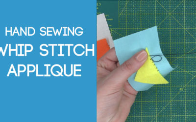 Whip Stitch Applique