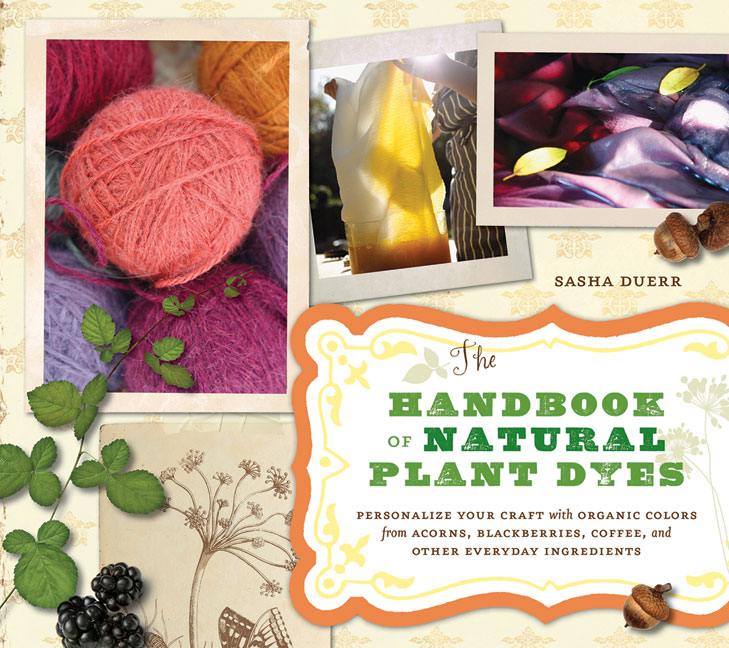 handbook of natural dyes book review by Tina at Miss Daisy Patterns
