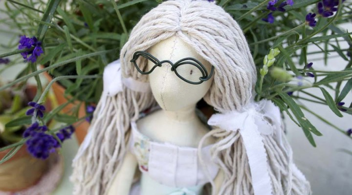 handmade doll Emma Jane by Miss Daisy Dolls