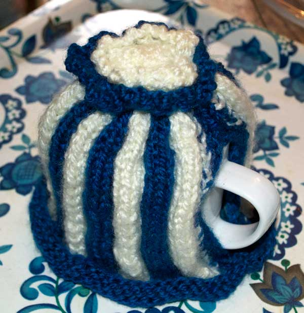 Retro Knitted Tea Cosy