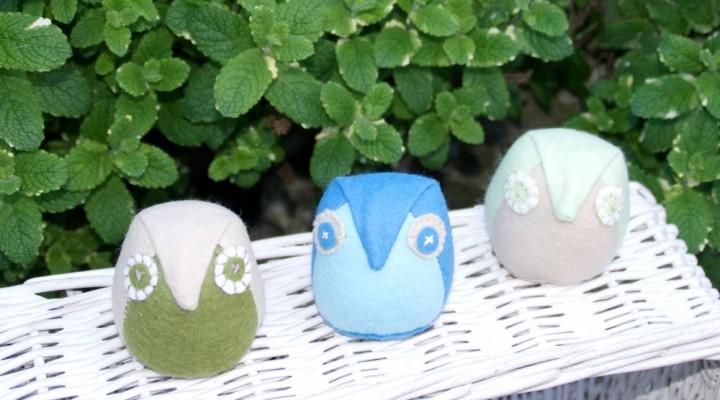 Howto make a cutefelt owl and box