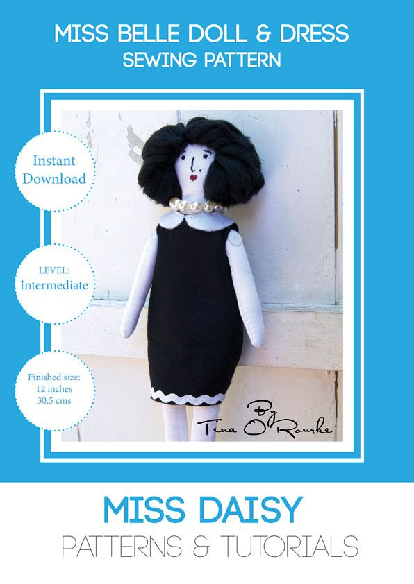 Miss-Belle-Doll-and-Dress-Sewing-Pattern