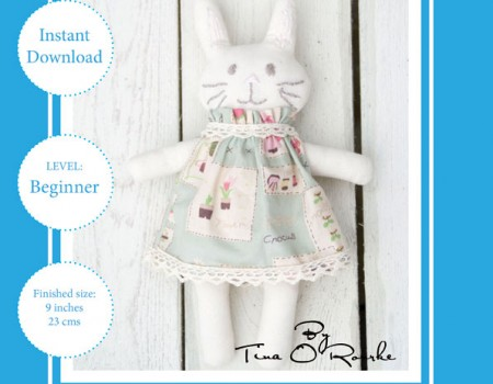 Likkle Bunny Sewing Pattern Instant Download PDF