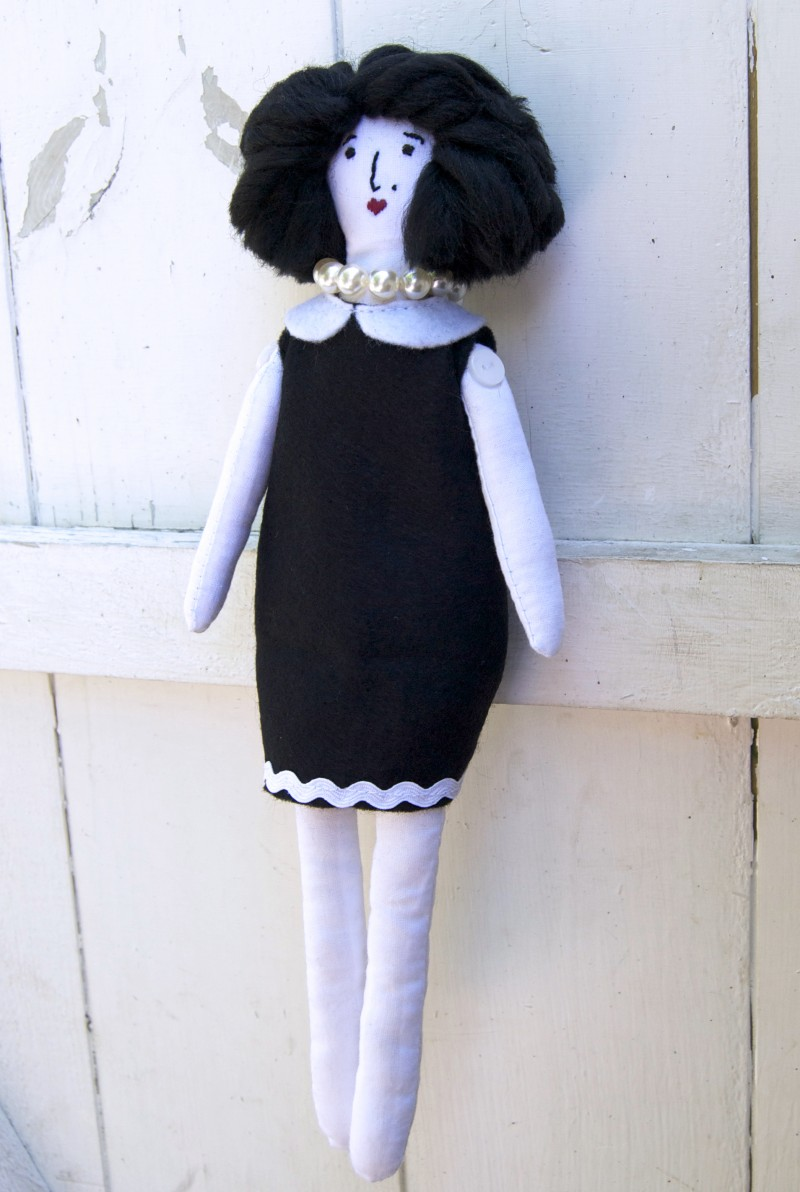 miss belle doll sewing pattern
