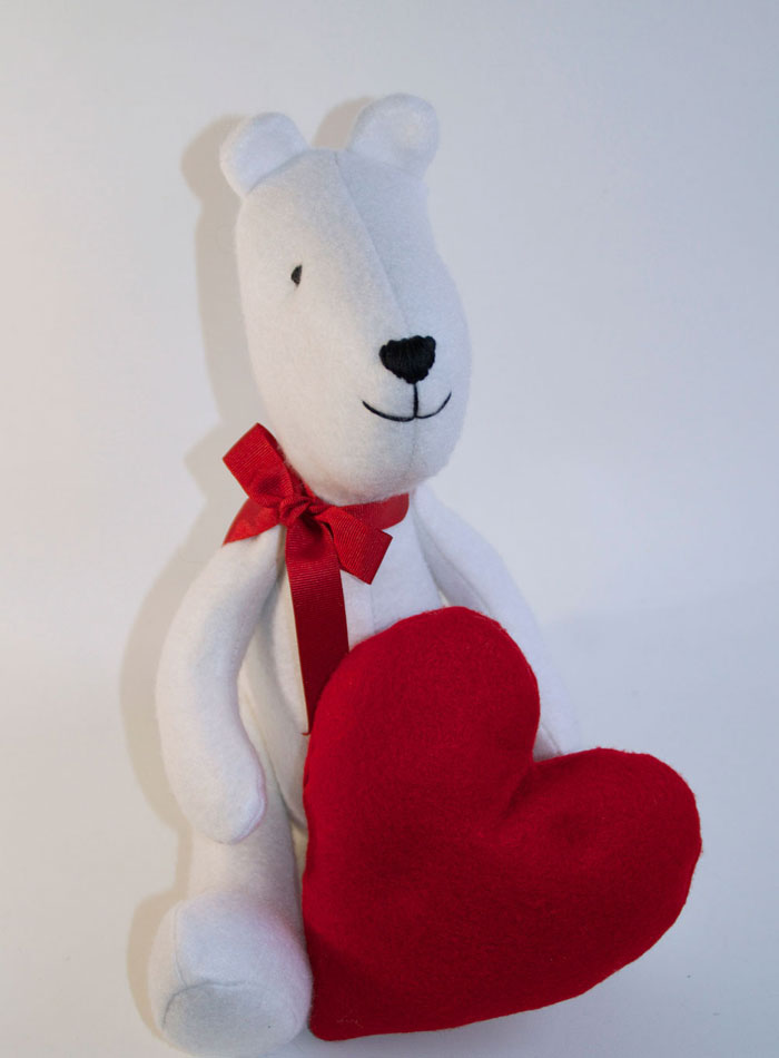 Valentine Heart Free Sewing Pattern