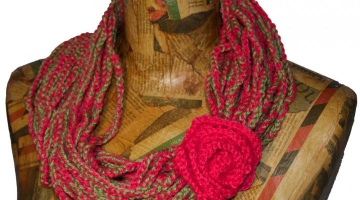 Crochet Cowl Scarf Pattern