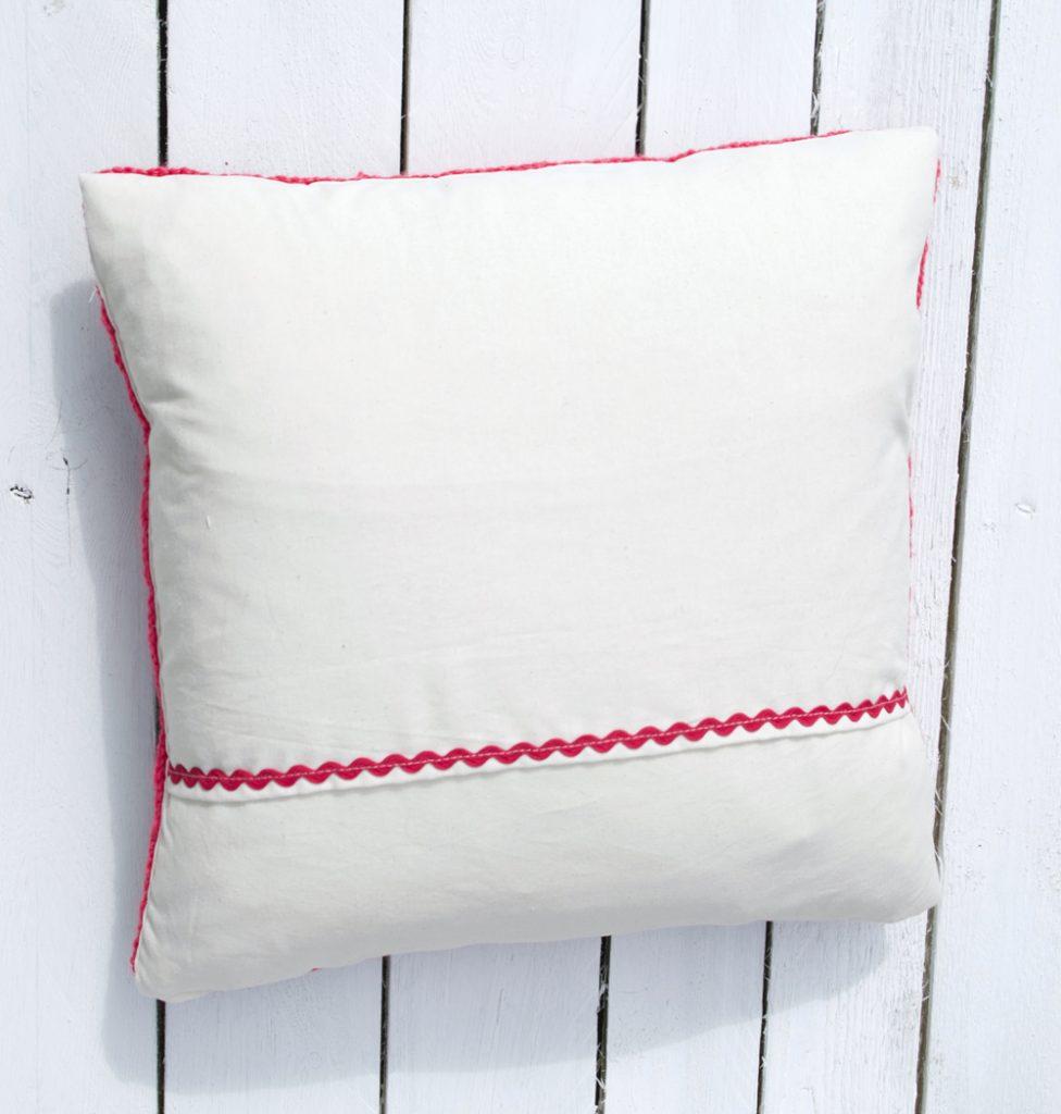 Granny Square Cushion Cover Crochet Pattern