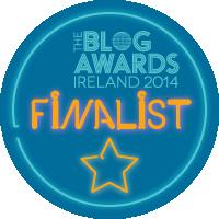 Blog Awards Ireland Finalist 2014