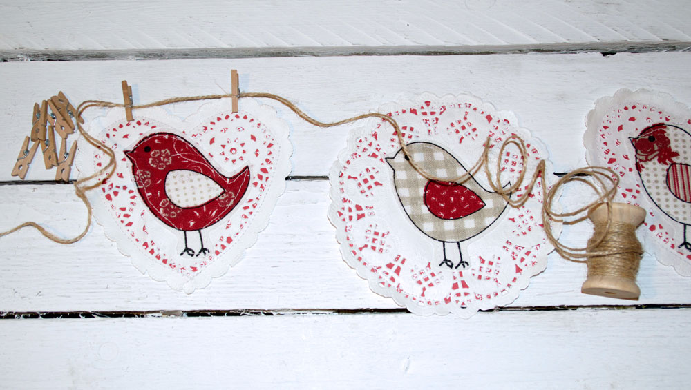 Cute Birdy Bunting – How to Make