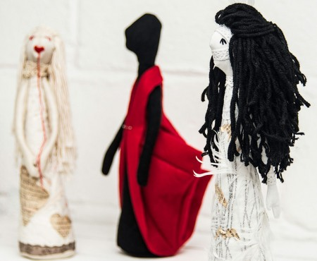 OOAK Mixed Media & Textile Dolls