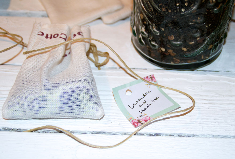 Organic Muslin tea & infusion bags – how to make