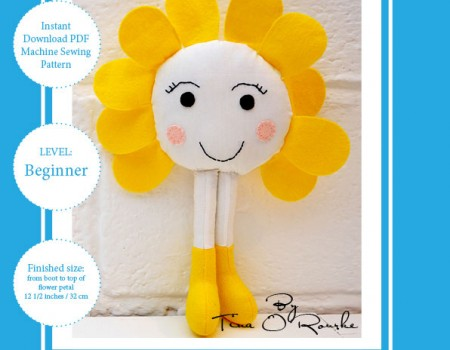 Doris Daisy Sewing Pattern Instant Download PDF