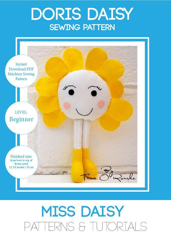 Doris Daisy Sewing Pattern by Miss Daisy Patterns
