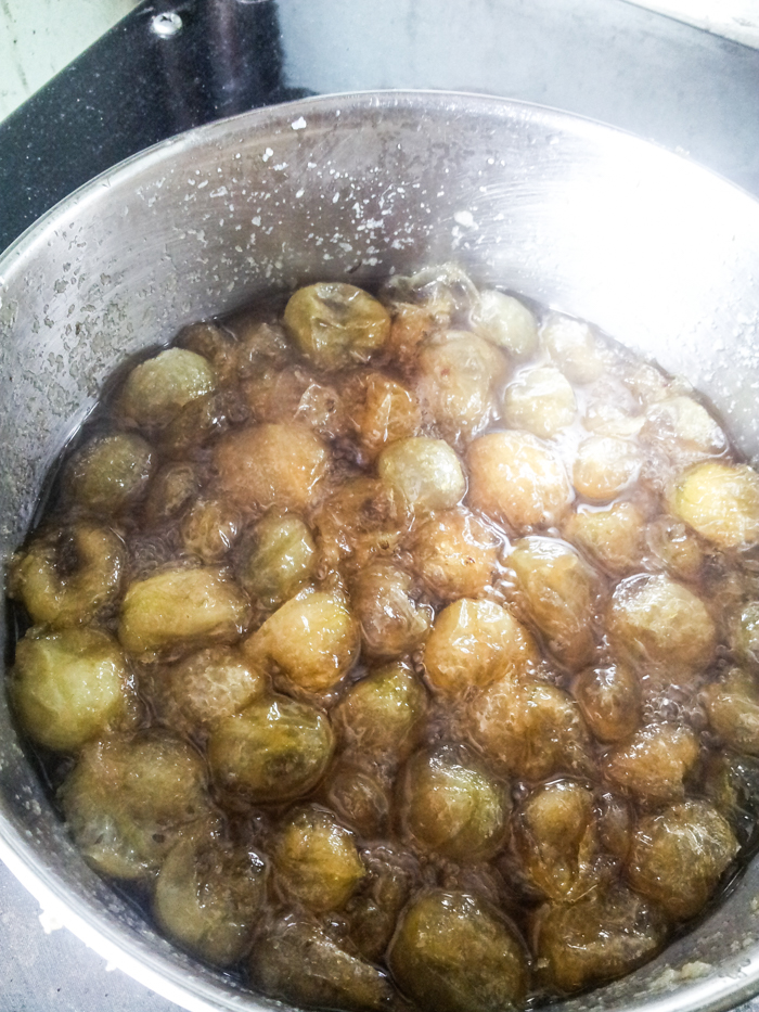 Homemade gooseberry Jam - Irish Gooseberries