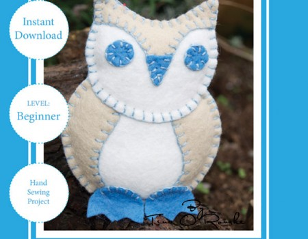 Tiny Owl Sewing Pattern