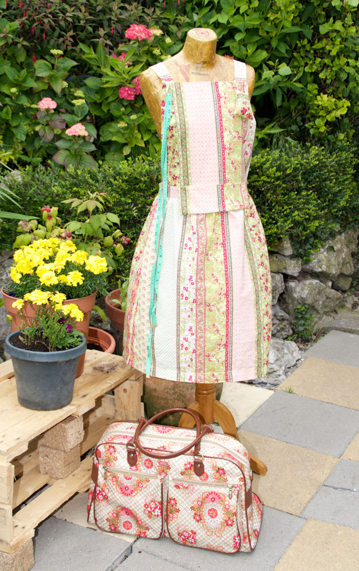 Upcycled Sewing Apron