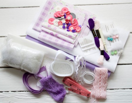 Starter Craft Box (Purple and White)