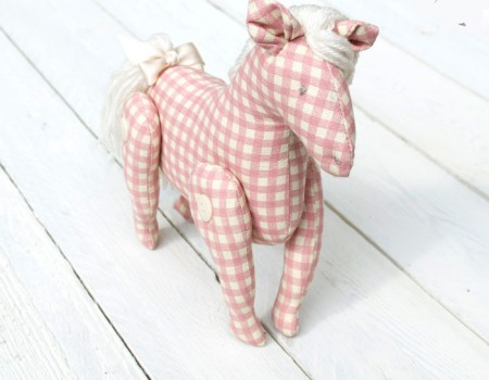 Holly the Pony Sewing Pattern Instant Download PDF