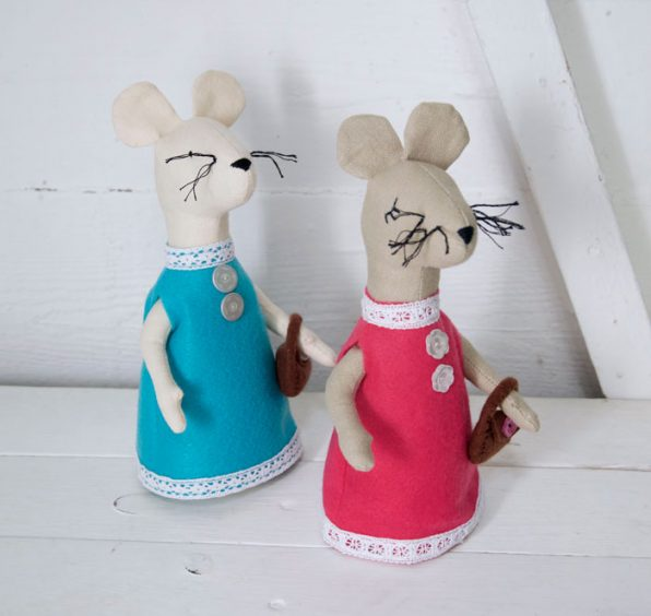 Likkle Mouse Sewing Pattern