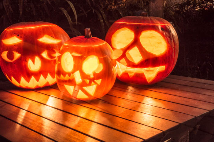 Carved Pumpkin Heads