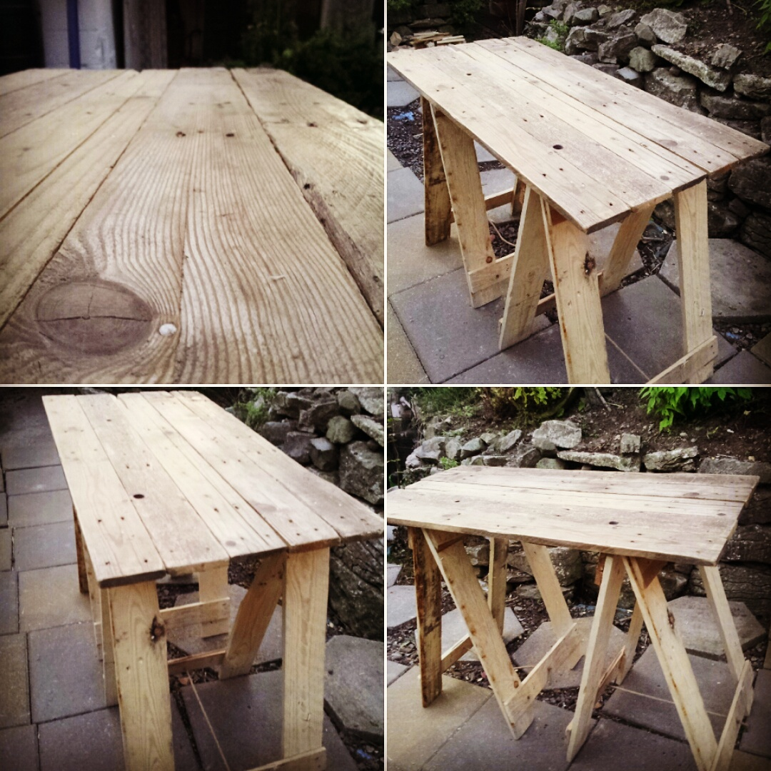 Pallet table Studio Make Over