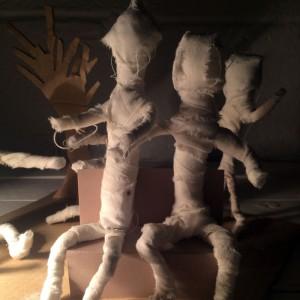 The Mummy – Halloween Craft Tutorial