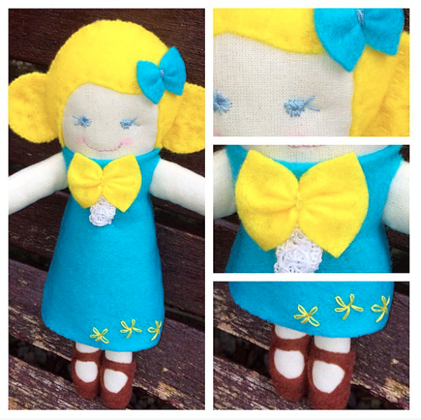 Cloth Doll Sewing Pattern