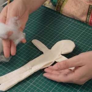 Cloth Doll Sewing Video part 1