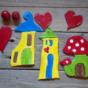Fairy Houses – Air Dried Clay Tutorial