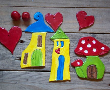 Fairy Houses – Air Dried Clay Tutorial