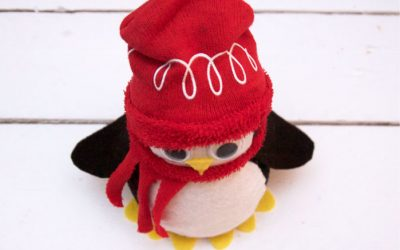 Little Penguin No Sew Tutorial