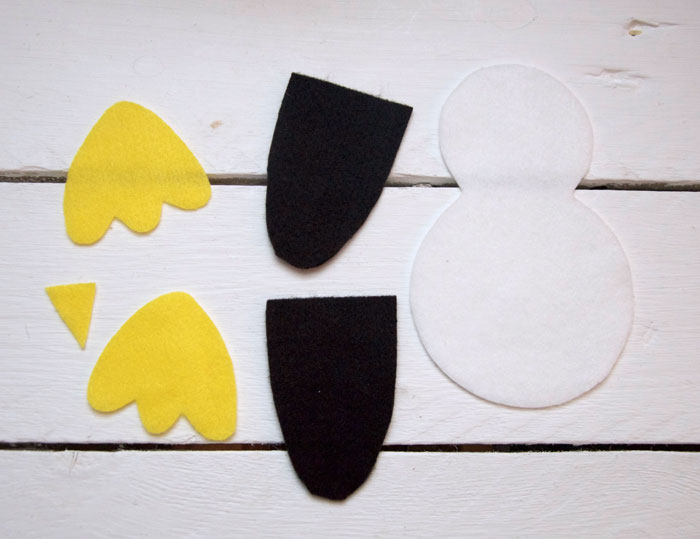 photo relating to Penguin Patterns Printable referred to as Very little Penguin No Sew Information - Pass up Daisy Types