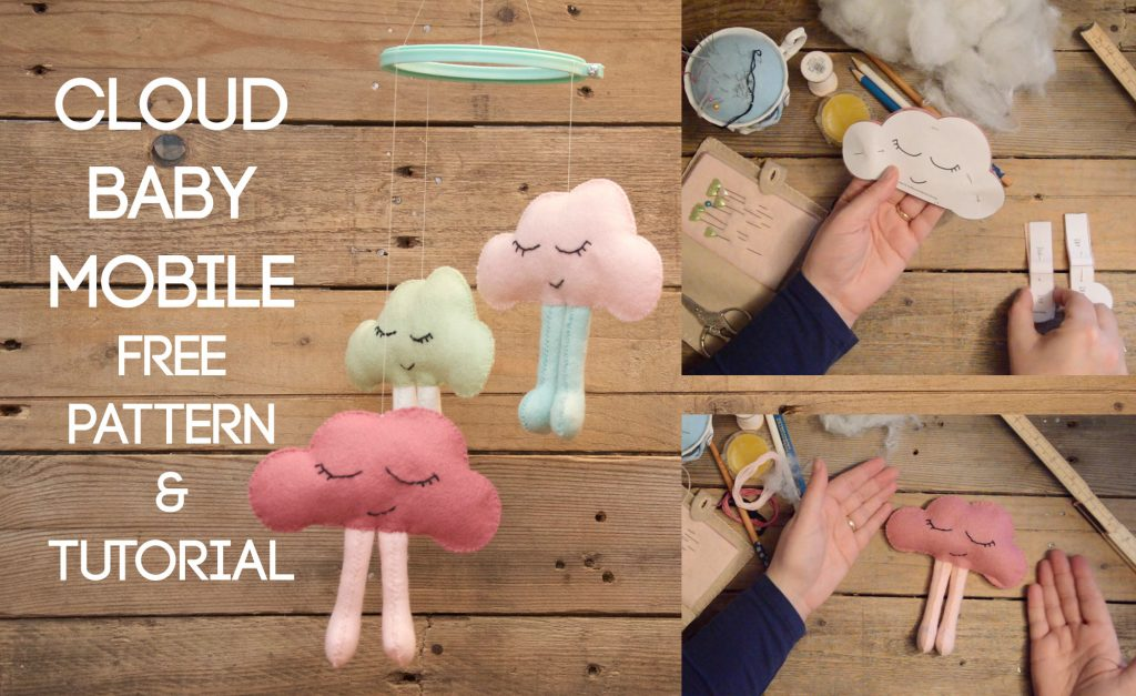 Cloud Baby Mobile Free Pattern & Tutorial