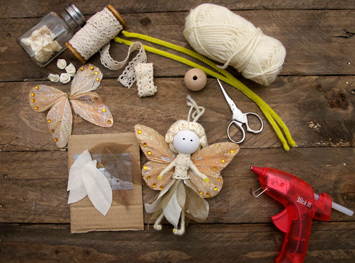 No Sew Fairy Tutorial