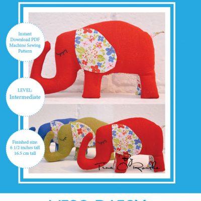 Miss Ellie Elephant Sewing Pattern Instant download pdf