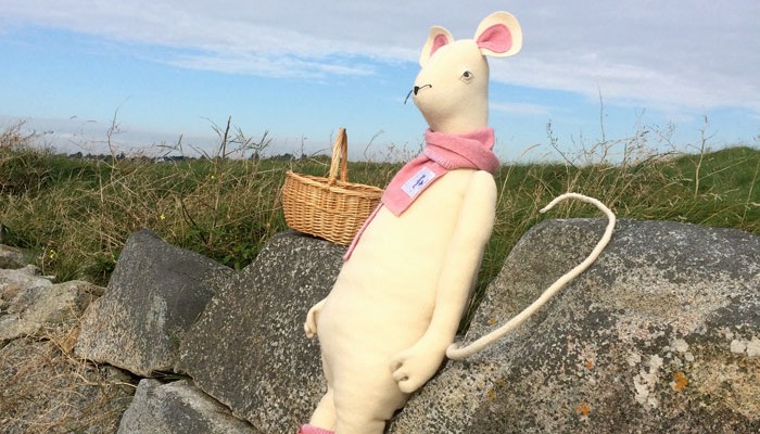 Mouse Mouse – Large Up-cycled Crafty Creatures