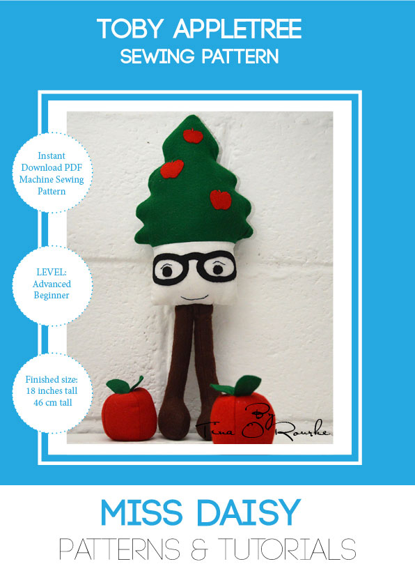 Toby Appletree Sewing Pattern Instant Download PDF - Miss Daisy Patterns