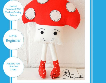 Tommy Toadstool & Doris Daisy Sewing Patterns