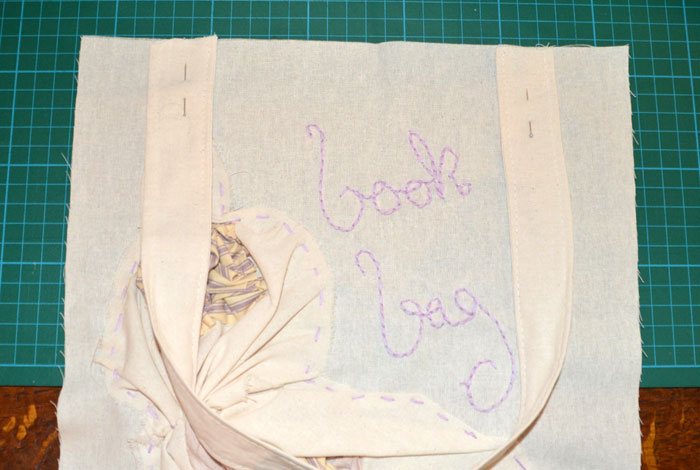 Book Bag Tote - DIY