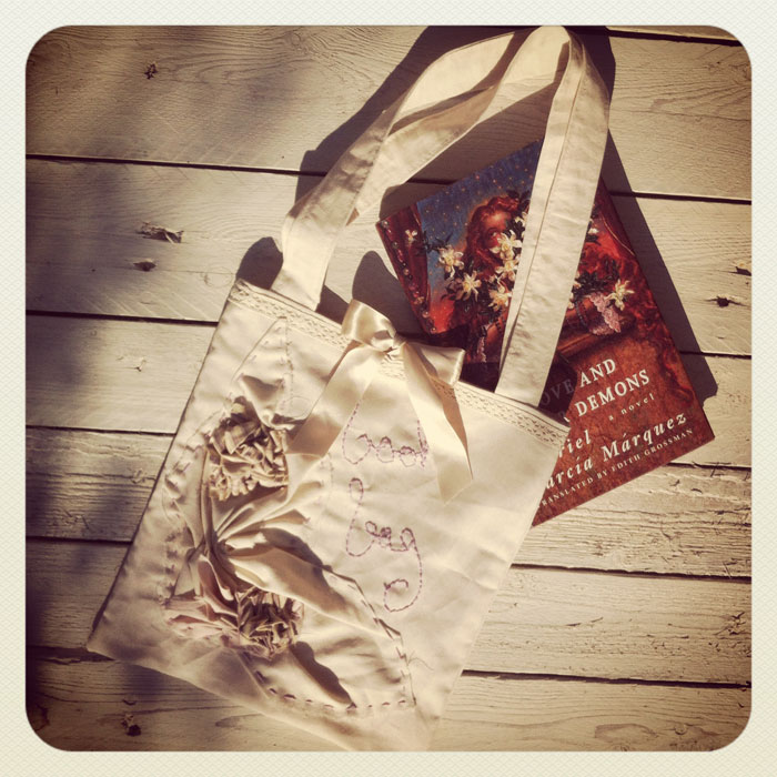 Book Bag Tote - DIY