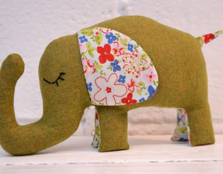 Miss Ellie Elephant Sewing Pattern Instant Download PDF