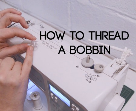 how to thread a bobbin