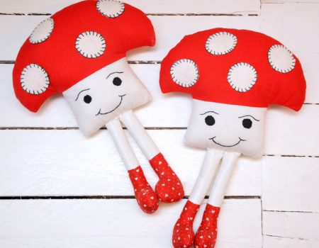 Tommy Toadstool Sewing Pattern Instant Download PDF
