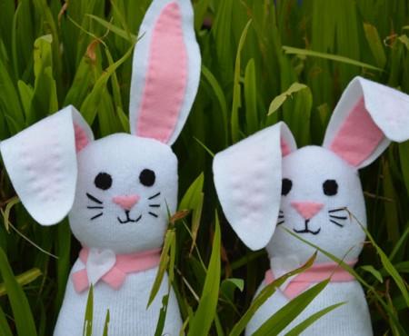 Sock Bunnies – DIY